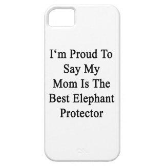 Soy orgulloso decir que mi mamá es el mejor iPhone 5 carcasas