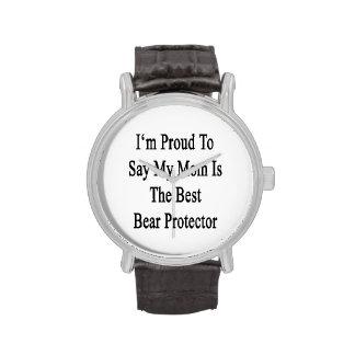 Soy orgulloso decir que mi mamá es el mejor protec relojes de pulsera