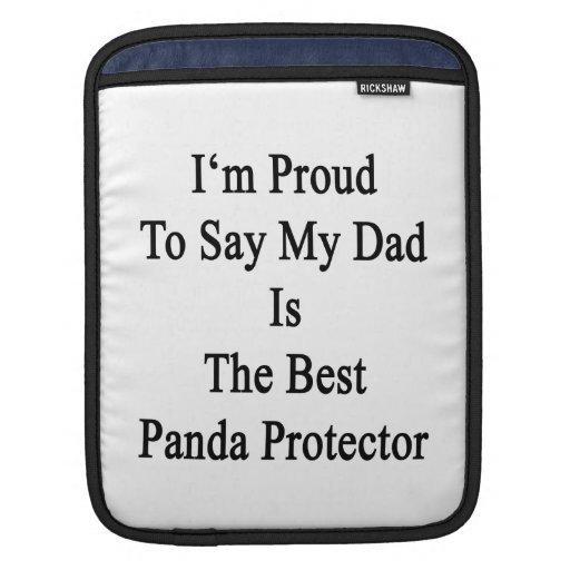 Soy orgulloso decir que mi papá es la mejor panda  mangas de iPad