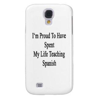 Soy orgulloso haber pasado mi español de enseñanza funda para galaxy s4