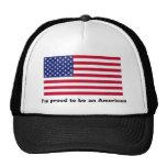 Soy orgulloso ser un americano gorro