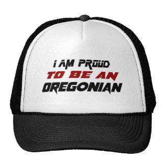 Soy orgulloso ser un Oregonian Gorros Bordados