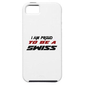 Soy orgulloso ser un suizo iPhone 5 fundas