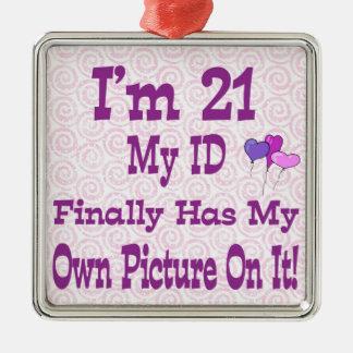 Soy ornamento de 21 identificaciones adorno