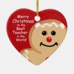 Soy ornamento personalizado dulce adorno de navidad