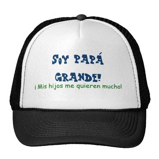 Soy Papa Grande Mesh Hat
