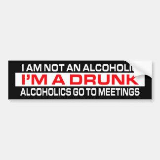 Soy pegatina para el parachoques bebida A Pegatina Para Auto