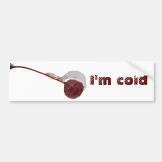 Soy pegatina para el parachoques fría del ~ etiqueta de parachoque