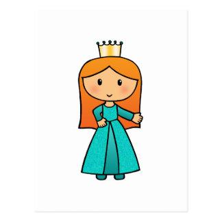 Soy pequeña princesa postal