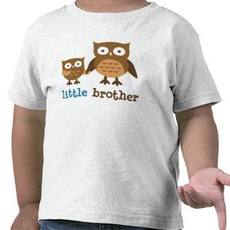 Soy pequeño Brother - camisetas del búho de la MOD