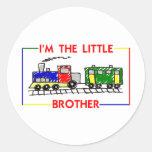 Soy pequeño Brother (el tren) Pegatinas Redondas