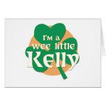 Soy pequeño Kelly pequenito Felicitaciones