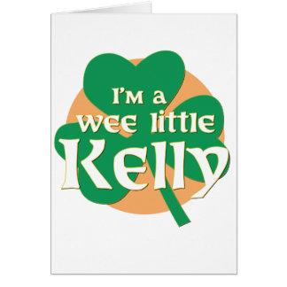 Soy pequeño Kelly pequenito Felicitación