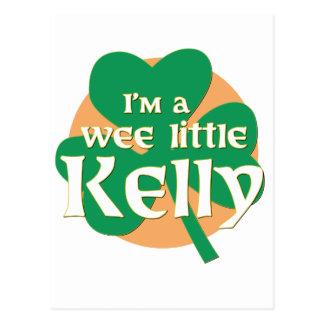 Soy pequeño Kelly pequenito Postal