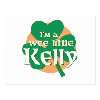 Soy pequeño Kelly pequenito Tarjetas Postales