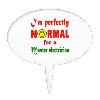 Soy perfectamente normal para un electricista figuras de tarta