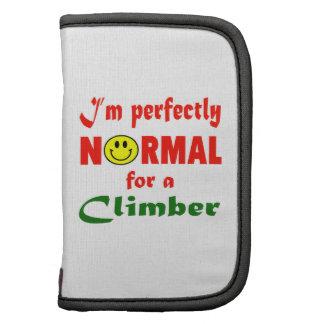 Soy perfectamente normal para un escalador planificadores