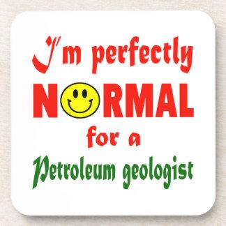 Soy perfectamente normal para un geólogo de posavasos de bebidas