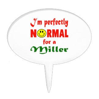 Soy perfectamente normal para un Miller Figura Para Tarta