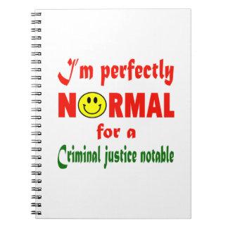 Soy perfectamente normal para un notabl de la libretas