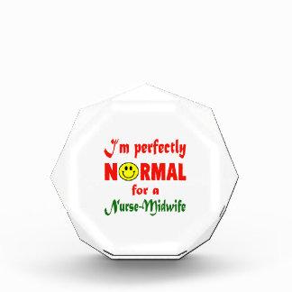 Soy perfectamente normal para un Nurse-Midwife.
