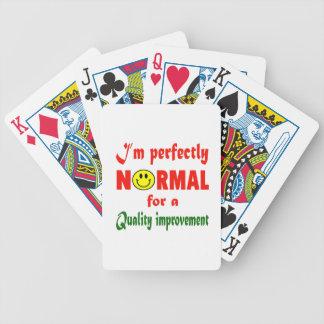 Soy perfectamente normal para una mejora de cartas de juego
