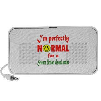 Soy perfectamente normal para una representación iPod altavoz