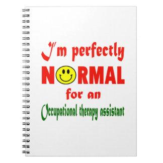 Soy perfectamente normal para una terapia libro de apuntes