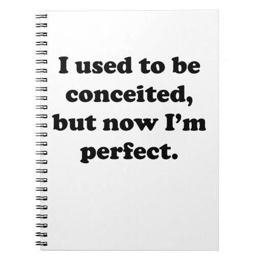 Soy perfecto ahora libreta
