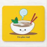 Soy Pho real Mousepad