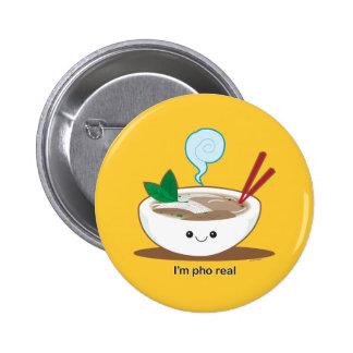 Soy Pho real Pin Redondo 5 Cm