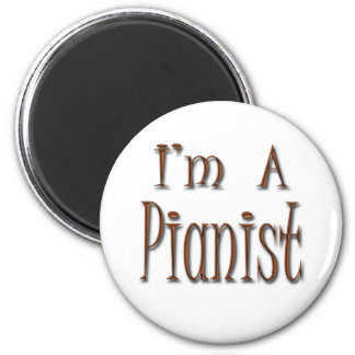 Soy pianista imán de nevera