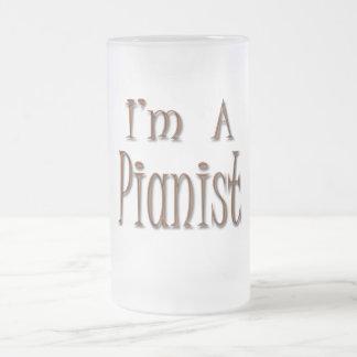 Soy pianista tazas de café