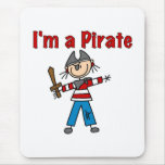 Soy pirata alfombrilla de ratón