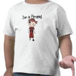 Soy pirata - las camisetas del muchacho y regalos