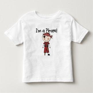 Soy pirata - las camisetas del muchacho y regalos playera
