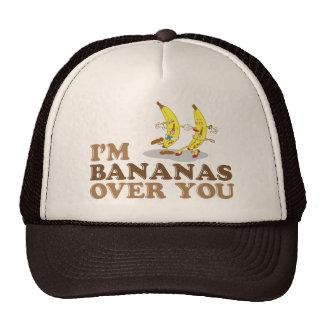 Soy plátanos sobre usted - los plátanos del baile gorros