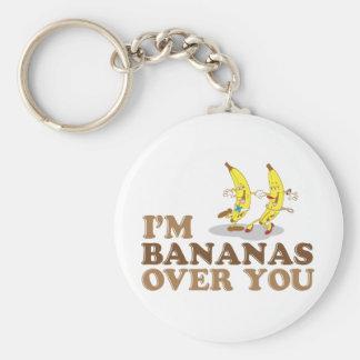 Soy plátanos sobre usted - los plátanos del baile llavero redondo tipo pin