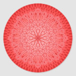 SOY PODER: Muladhara - la raíz Chakra Pegatinas Redondas