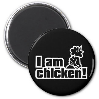 ¡Soy pollo! Imán Redondo 5 Cm