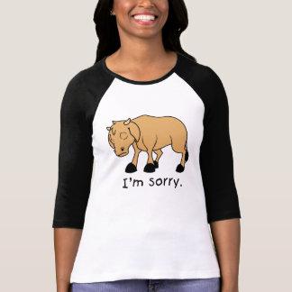 Soy polo triste gritador triste de la camisa del