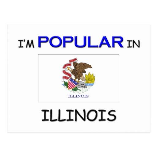 Soy popular en ILLINOIS Tarjetas Postales