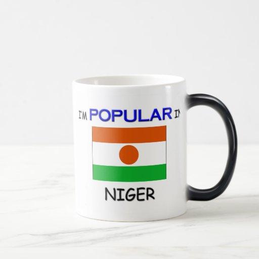 Soy popular en NIGER Tazas