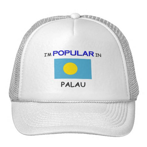 Soy popular en PALAU Gorra