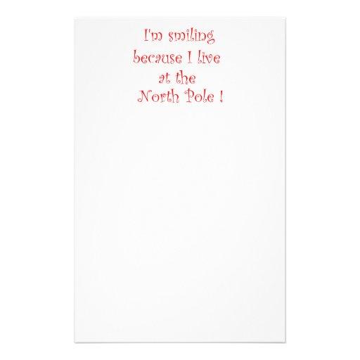 Soy porque-efectos de escritorio sonrientes personalized stationery