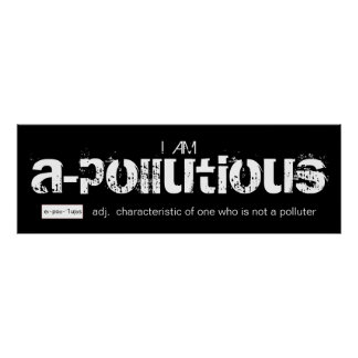 Soy poster a-Pollutious
