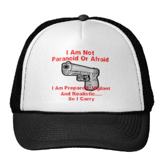 Soy preparado, vigilante y realista así que llevo gorro de camionero