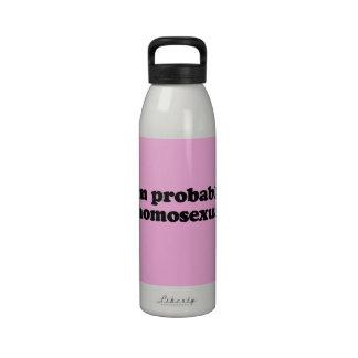 Soy PROBABLEMENTE UN HOMOSEXUAL Botellas De Beber