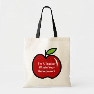 Soy profesor cuál es la su bolsa de asas de la