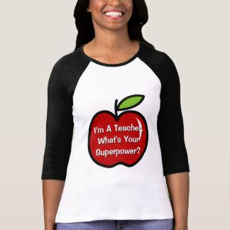 Soy profesor cuál es su camiseta de la